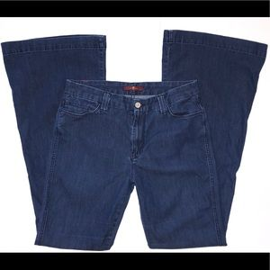 Denim - 7 For All Mankind-Bell Bottom Jeans Size 30